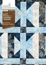 Quilt for all Seasons Winter Anita Goodesign Embroidery Design Cd New