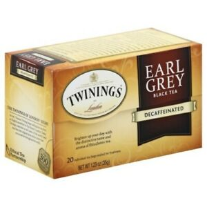 Twinings Of London Earl Grey Decaffeinated Black Tea
