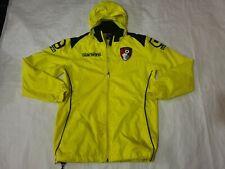 12-13 Boys AFC Bournemouth yellow Rain Coat jacket carbrini please read (18)