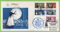 G.B. 1970 Anniversaries set on Abbey First Day Cover, Nightingale Exhibition