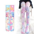 Ram Rem Printing Over-knee Stockings Velvet Women Girls Stockings Japanese Anime