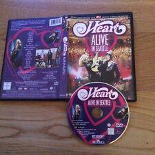 ALIVE IN SEATTLE  - ANN & NANCY WILSON  - HEART - NEW DVD  - 2002