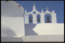 467033 Bells Fira Santorini Greece A4 Photo Print