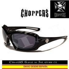 CHOPPERS Gafas de Sol UVAB Acolchado Moto Moda Custom Biker Lunettes Occhiali