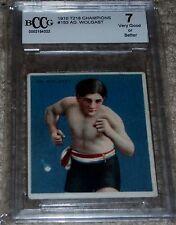 Ad Wolgast 1910 T218 Mecca Cigarettes Boxing Card Beckett Grade 7