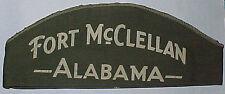 "WW2 ""Fort McClellan Alabama"" Souvenir Side Hat"