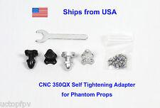Blade 350 QX Adapter for Phantom Props 8mm SPC CNC Parts E-Flite Carbon Fiber