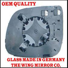 Audi Q5 10 porta lato guida/Specchietto Laterale Glass Silver Aspheric,Heated &