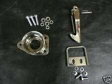 MG MIDGET AUSTIN HEALEY SPRITE BONNET SAFETY CATCH HOOK + CUP STAINLESS +BOLTS+