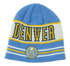 Adidas NBA Youth Boys (8-20) Denver Nuggets Skully Knit Cap, Light Blue
