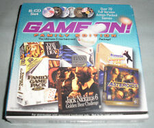 Game On! Family Edition PC Computer 6-CD Set 70+ Games Jack Nicklaus + More NEW!