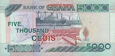 5000 Ghana di cedi Five Thousand di cedi 2000 CARTAMONETA mille franchi