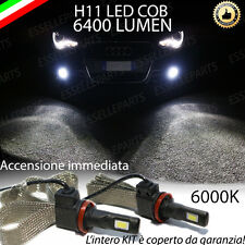KIT FULL LED AUDI A1 LAMPADE H11 FENDINEBBIA CANBUS 6400 LUMEN 6000K NO AVARIA