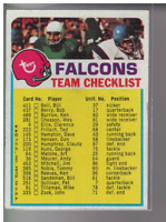 1973 Topps Team Checklists FB Card #s 1-26 (A3795) - You Pick - 10+ FREE SHIP