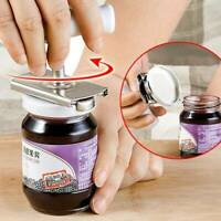 Adjustable Stainless Can Jar Tin Bottle Lid Opener Food Kitchen Tools Anti-slip