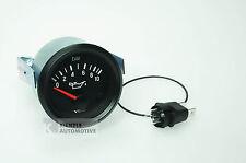 VDO Cockpit International Öldruckanzeiger Manometer 10 bar, 12 Volt, Ø 52 mm
