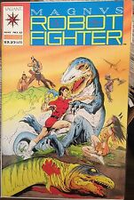 MAGNUS ROBOT FIGHTER # 12 (VF)•1st Appearance TUROK DINOSAUR HUNTER to Valiant•