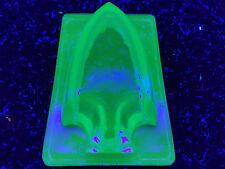 Blue Vaseline glass Arrow Elevator car truck signal uranium Cobalt bus taxi glow