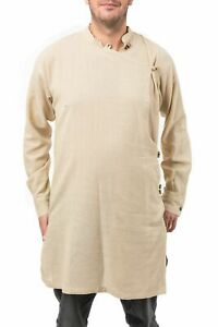 Chemise tunique kurta homme chanvre - Neuf