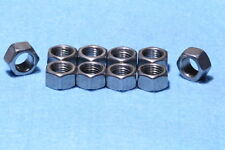 3/8 UNF 24 tpi Stainless Nuts Semi Polished Triumph Harley Bobber Norton Chopper