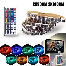 USB RGB 5050 LED Strip TV Hintergrundbeleuchtung PC Computer  Leiste Farbwechsel