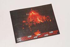 Arp Avatar Axxe Odyssey 2600 Sequencer Omni-2 Pro/DGX Pro Copy Brochure Booklet