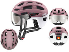 UVEX Urban City Fahrradhelm Finale Visor rosé-white matt