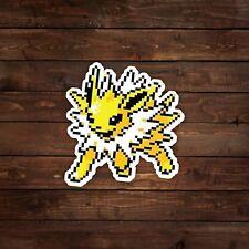 8-Bit Jolteon (Pokemon) Decal/Sticker
