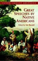 Great Speeches by Native Americans (Dover Thrift Editions) by