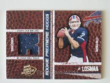 JP Losman Playoff Hogg Heaven 2004 ROOKIE JERSEY CARD # 'd 713/750 Buffalo Bill