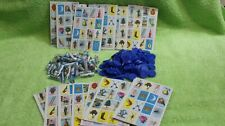 Mini-Loteria Combo Bottle of 54 SMALL Images(Mexican Bingo Deck)