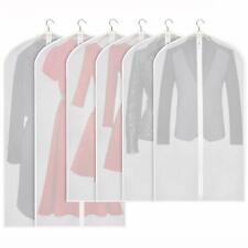 Lot de 6 Housse de Protection Sac de Rangement Transparent pour Vêtements