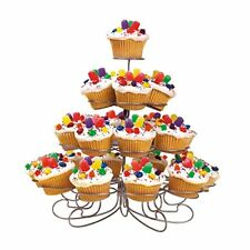 Wilton 2 Holders CUPCAKES-N-MORE DESSERT Stand Cakes Display Decoration