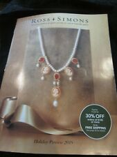 ROSS SIMONS JEWELRY CATALOG HOLIDAY PREVIEW 2018 GIFT GUIDE BRAND NEW