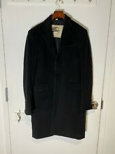 BURBERRY Men's 3-Button Wool Coat - 48IT/38US
