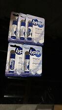 Lot of 5 - New Lypsyl Original Moisturizing Formula Lip Balm 4.2g Stick NIP