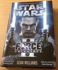 THE FORCE UNLEASHED II Sean Williams Book (STAR WARS) Hardback NEW