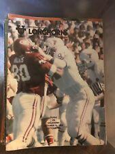 1979 Oklahoma Sooners Texas Longhorns OU Football Program
