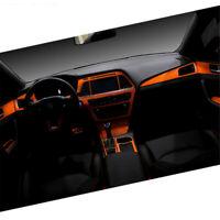 Interior Center Console Carbon Fiber Molding Sticker Decals For Hyundai Sonata 9