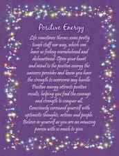 Friendship Card Positive Energy, great gift  for Loved One, Birthday, Friend