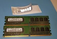 2x512MB DDR2 PC2-4200U Samsung with Windows 7 PRO OA License Key