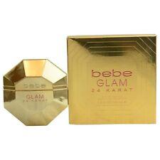 Bebe Glam 24 Karat 3.4 Oz 100.30 Ml Ladies Fragrance