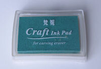 Rubber Stamps Craft  Ink Pad for Paper Wood Fabric 18 Colours UK Card Making