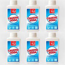 CAUSTIC SODA BEST SINK TOILET DRAIN BLOCK POWDER CLEANER UNBLOCK UNBLOCKER X 6