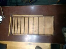 Antique Letter Press Printers Tray with 9 shelves great for display