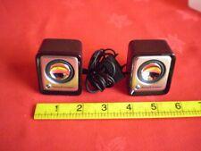 Sony Ericsson - Black Mini Speakers - in Ridged Case