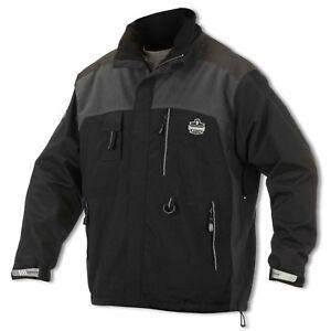 Ergodyne N-Ferno Core 6465 Thermal Jacket, Black, Small