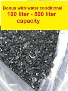 Aquarium Activated Charcoal Carbon Aquaponics Pond Filter Media 1 to 5 kg Bonus