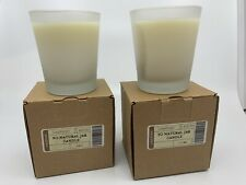 """Set Of 2 Longaberger """"So Natural� Scented Candles"""