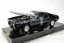 Pontiac Firebird 1973 - Black , Motormax 1/24 , Classic Model Car